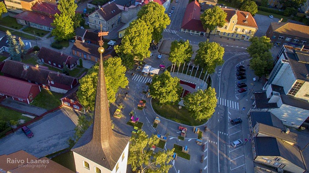 Paide kiriku torn